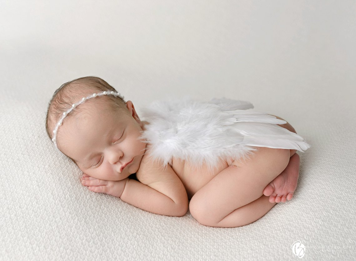 Sweet Angel {Bennett} | Moncks Corner, SC Newborn Photographer