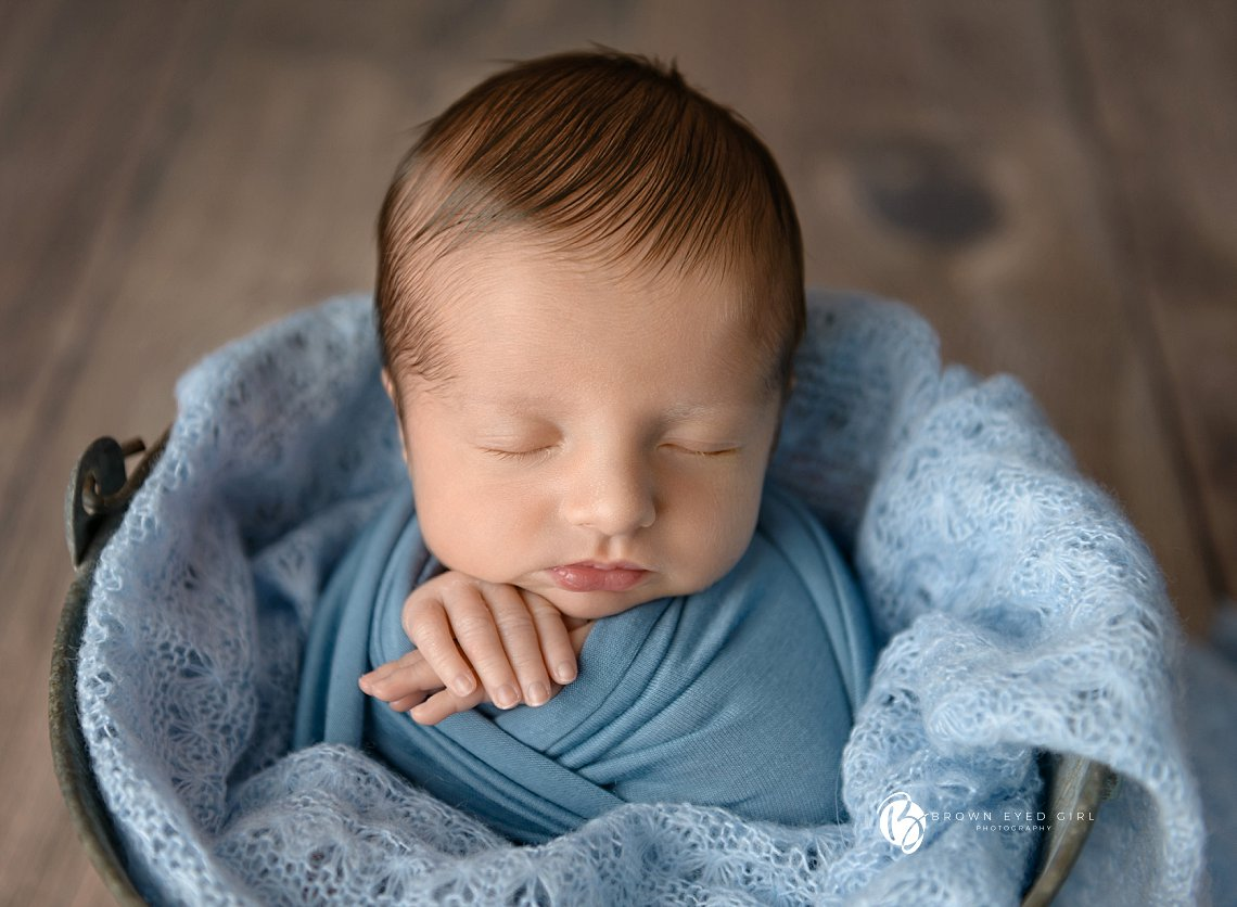 Baby Boy Blue | Mt Pleasant, SC Newborn Photographer